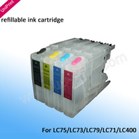 refillable Ink cartridge  for Brother LC79 LC12 LC17 LC400 LC450 LC71 LC77 for MFCJ280W  MFC J425W MFC J430W MFC J435W