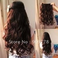 Fashion Wave Hair Extension wholesale cheap human hairpiece hair grade AAA