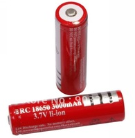 2PCs/lot 18650 Protected Battery  3.7V 3000 mAh li-ion Battery For Camera Flashlight Torch18650 rechargeable Battery
