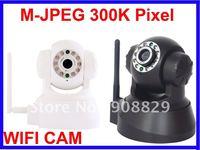 CCTV security WIFI outdoor CAM M-JPEG 300K Pixel  PTZ control