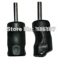 5pcs/lot black plastic tattoo grips free shipping with back stem