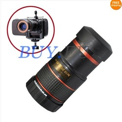 Universal Mini 8x Zoom Optical Lens Telescope For Mobile Android Phone , free shipping around the world(China (Mainland))