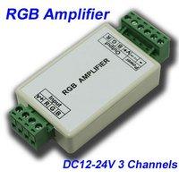 NEW DC12V/144W, DC24V/288W Brightness Adjustable LED RGB Controller, RF Touch Remote, 8 Key