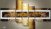 Framed!! Frame oil painting !5 panels /set  Huge  Framed/Stretched  painting  JYJZ052