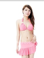 Wholesale sexy skirt type two type bikini south Korean woman bikini