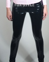 best seller latex  tight pants for lady