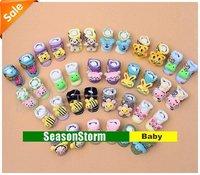 [CPA Free Shipping] Wholesale Mixed Style Newborn Baby Cartoon Animal Boots Socks 24 pair/lot (SY-78)