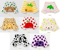 [CPA Free Shipping] Wholesale Sweet Kids Fruit Print Tights Shorts / Baby Leg Warmer / Infant PP Short Pants 24pcs/lot (SY-18)