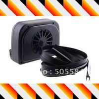 Solar powered car air cooler fan/Vent ,auto cool Ventilation system,Free shipping