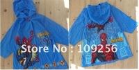 kids rainwear Wholesale 5pcs Japan and Korean cartoon animal shaped kid's poncho children rainwear free shipping