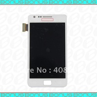 100% Guarantee White LCD screen with Digitizer assembly  for Samsung Galaxy S2 i9100