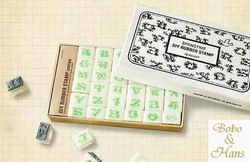 Free Shipping/NEW spring time number and letter DIY rubber stamp set / gift box / 36 pcs/set / Wholesale(China (Mainland))