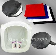 19″ 50cm Light Photo Cube Soft Box +4 Color Backdrops Photographic equipment for Camera & Photo