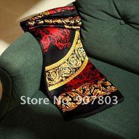 2012 New top selling Retail 100% silk scarf women shawls wraps fashion scarves Satin 88*88cm Free shipping JY024