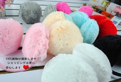 Free shipping wholesale multiple color worn after type warm earmuffs winter ear cover ear protcetor 24cs/lot(China (Mainland))