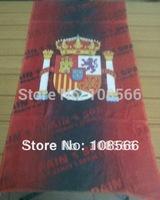 Spain microfiber  towel /  rectangle sports towel