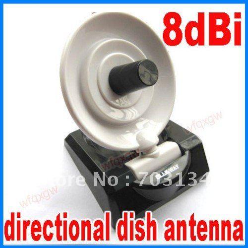 2.4Ghz 8dBi Directional Dish Antenna WIFI Wireless SMA freeshipping&dropshipping(China (Mainland))