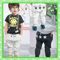 three stars pants, kids wear, children clothing, baby boys girls haroun pants trousers pp pants 7#V239