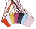 2012 Women PU Leather  Phone Bag,Coin Purse With Shoulder Band Shoulder Strap,Free Shipping lady