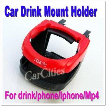 Hot sale Car Drink Mount Holder,Cup Holder,Bottle Stand Beverage Racks,for Drink holder,for phone,for MP4,8.5CM*9.5CM*5.5CM