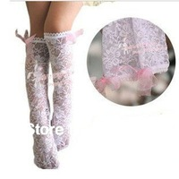 10pairs baby girls summer lace long socks pink colors lace stockings girls socks
