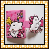 72pcs / lot Free Shipping Hello Kitty Card Holders Card Protector 16 cards Hotsale