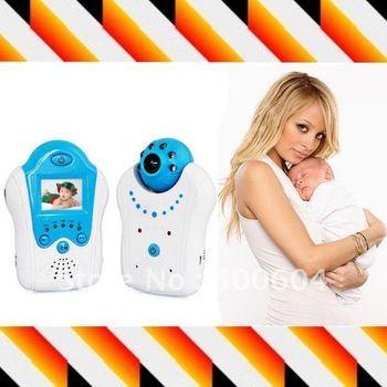 Wireless Baby cry detector Monitor, 24h Audio video control baby camera, baby sleep monitor camera
