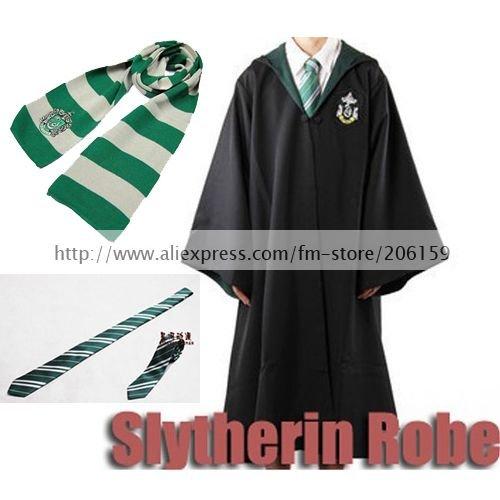 Harry Potter Robe Slytherin Dress Costume