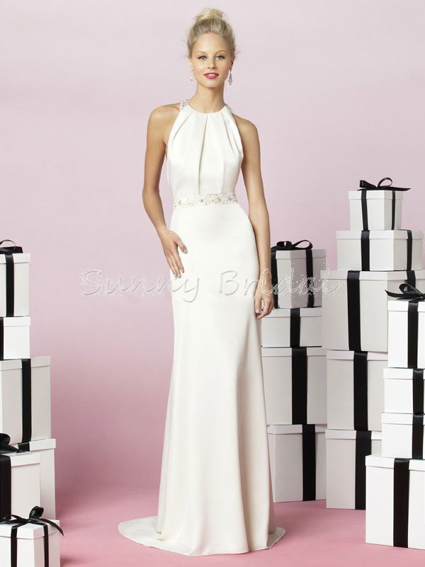 Free shipping strapless white lace wedding dress with for Dress for after the wedding