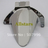 Free Shipping Brand New Motorcycle Rear Hugger Fender Mudguard for Honda CBR 600 F4 F4i 01-03 Chrome Guaranteed 100%