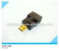 WINGTURN Micro HDMI Male to Micro HDMI Female Adapter HDMI D Type to HDMI D Type Adaptor