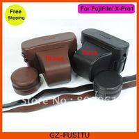 Free Shipping Leather camera Case Bag for FujiFilm Fuji X-Pro1 X Pro 1