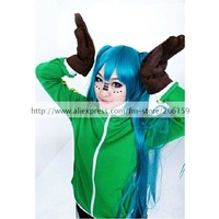 Vocaloid Matryoshka Miku Jacket Cosplay Costume With Gloves