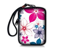 Colorful Flower Soft Mini Case Bag Pouch Cover Fit Digital Camera,Ipod Touch,Apple Iphone ,Ipod,Coin Purse(China (Mainland))