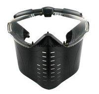 Electric Turbo Fan Full Face Mask (Black) free ship