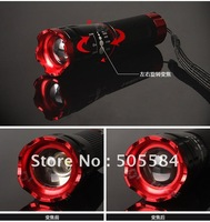 Zoomable 3 Mode cree Q5 Bicycle led flashlight/Headlight, Bike handlebar torchlight, bicycle front light