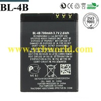 DR.B. 700mAh full capacity BL-4B cell mobile phone BATTERY FOR NOKIA 2630 2760 5000 7370 N76  with retail packing