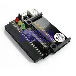 New DUAL CF to 40Pin IDE Compact Flash Adapter Bootable(China (Mainland))