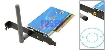 54MBPS WIFI 802.11G WIRELESS LAN PCI NETWORK CARD NEW