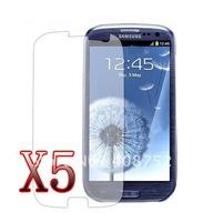 5x Ultra Crystal Clear Screen Protector for Samsung Galaxy S3 i9300 III