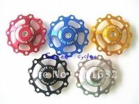 jockey wheel,cnc bicycle parts,bike jockey wheel x10pcs/lot