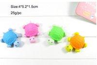 Mixed design 80pcs/lot Lovely children  rubber ,tortoise/banana/smiling face/car/mushroom/animal children cartoon eraser