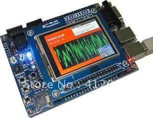 Free Shipping STM32 development board Learn ARM board (512K FLASH 64K SRAM) +2.4 inch TFT(China (Mainland))