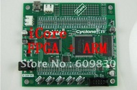 free shipping,iCore FPGA + ARM development board, CYCLONE4 + STM32,EP4CE6E22C8N + STM32F103VC