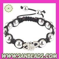 5 pcs/lot Free Shipping! Wholesale Popular 21~26cm Handmade ABS And Scorpion Bead Bracelets Cheap,YH2485