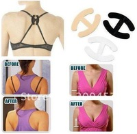 2000 pcs /lot Bra Clip Free Cleavage Clips As Seen On TV Free Shipping