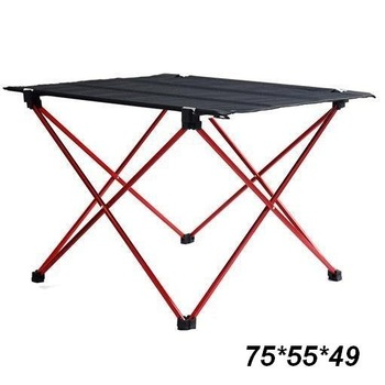 4pcs/Lot,  75*55*49cm Portable Folding Outdoor Table.Urltra-Light,only about 1.02KG/piece.