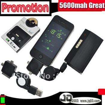Genuine 5600mah Portable USB Power Station Accumulator For Smart Celular Phone Perfect Backup Extend Battery ( Free Shipment )