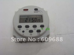 AC 220V Power Programmable Timer Time Relay,Free Shipping(China (Mainland))