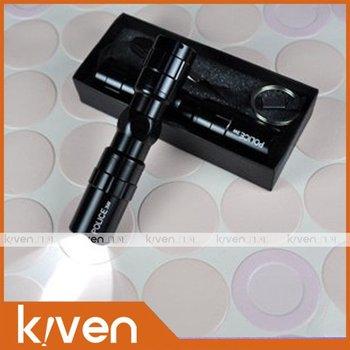 Water proof Small flashlight mini flashlight, LED lights for outdoor use LED lighting 10pcs/lot black the shell free shipping